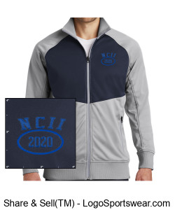 NATIONAL COUNCIL OF INTERGALACTIC INTERVENTION 2020 NORTH FACE ADULT TECH FULL ZIP FLEECE JACKET Design Zoom