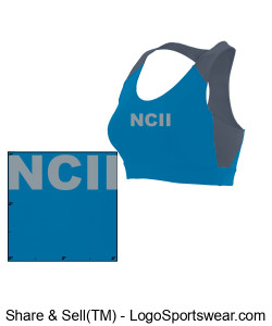 NATIONAL COUNCIL OF INTERGALACTIC INTERVENTION AUGUSTA LADIES ALL SPORT SPORTS BRA Design Zoom