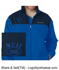 NATIONAL COUNCIL OF INTERGALACTIC INTERVENTION NCII 2020 COLUMBIA JACKET Design Zoom