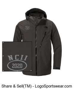 NATIONAL COUNCIL OF INTERGALACTIC INTERVENTION 2020 NORTH FACE ASCENDANT INSULATED JACKET Design Zoom