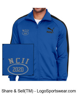 NATIONAL COUNCIL OF INTERGALACTIC INTERVENTION 2020 PUMA TRACK JACKET Design Zoom