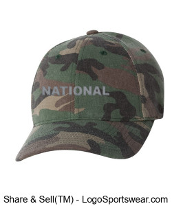 NATIONAL COUNCIL OF INTERGALACTIC INTERVENTION CAMO CAP Design Zoom