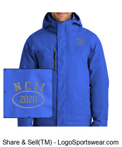 NATIONAL COUNCIL OF INTERGALACTIC INTERVENTION 2020 NORTH FACE TRAVERSE TRICLIMATE JACKET Design Zoom