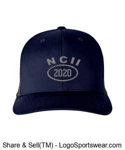 NCII 2020 PUMA GOLF ADULT 110 SNAPBACK TRUCKER CAP Design Zoom