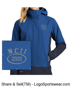 NATIONAL COUNCIL OF INTERGALACTIC INTERVENTION 2020 WOMENS EDDIE BAUER WEATHEREDGE JACKET Design Zoom