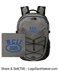 NATIONAL COUNCIL OF INTERGALACTIC INTERVENTION THE NORTH FACE BACKPACK Design Zoom